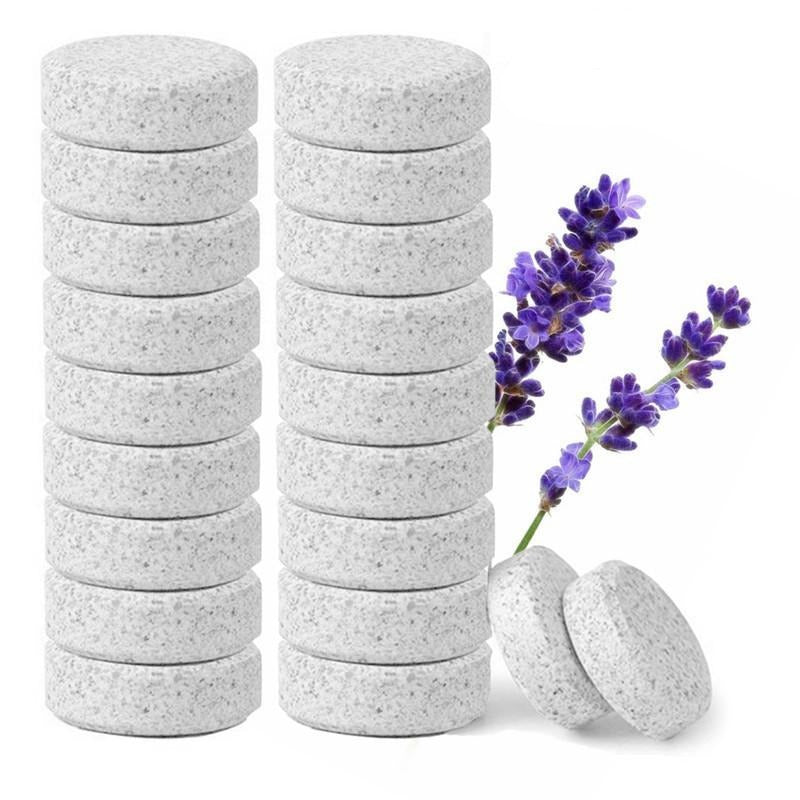 50 pcs Multifunctional Effervescent Concentrate Cleaner Lavender