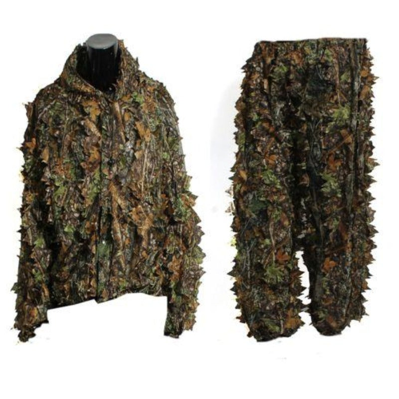 3D Leaf Camouflage Hunting Ghillie Suit