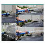 Multi-function 8 in 1 Garden Hose Nozzle Sprinkler Water Soap Dispenser Pump Spray Gun