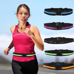 Reflective Safety Running Belt with Anti-Theft Pocket