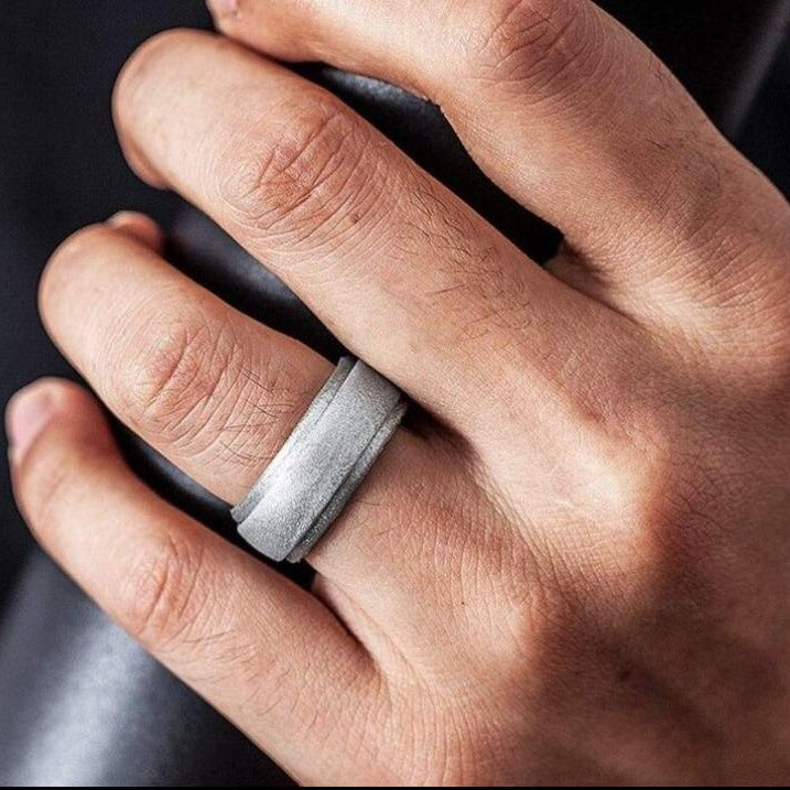 Unisex Silicone Wedding Band