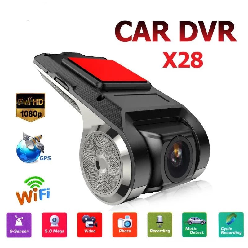 12MP Full HD Car DVR Camera Auto Navigation Dash Camera Recorder