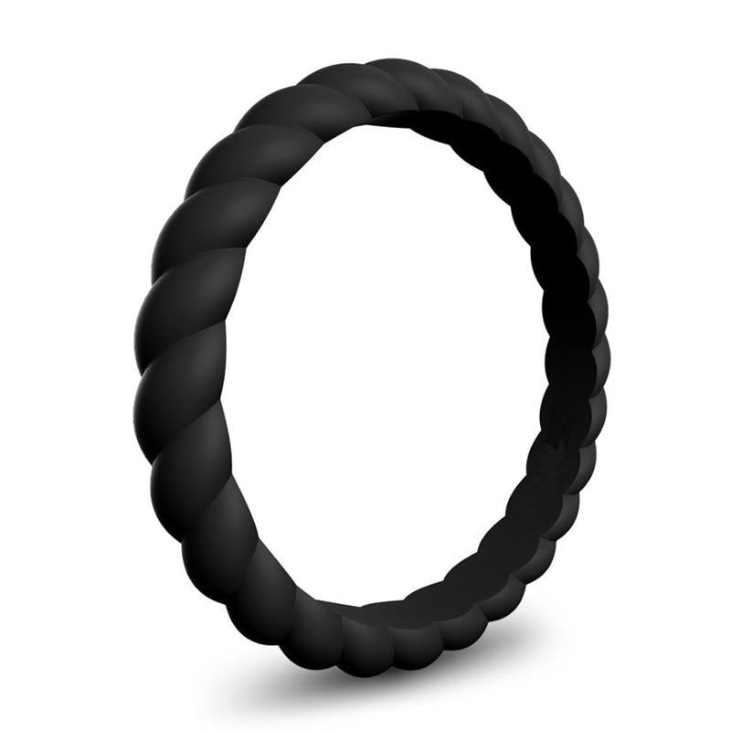 Women's Silicone Braided Ring