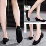 Women's Low Heel Slip-on Dress Shoes