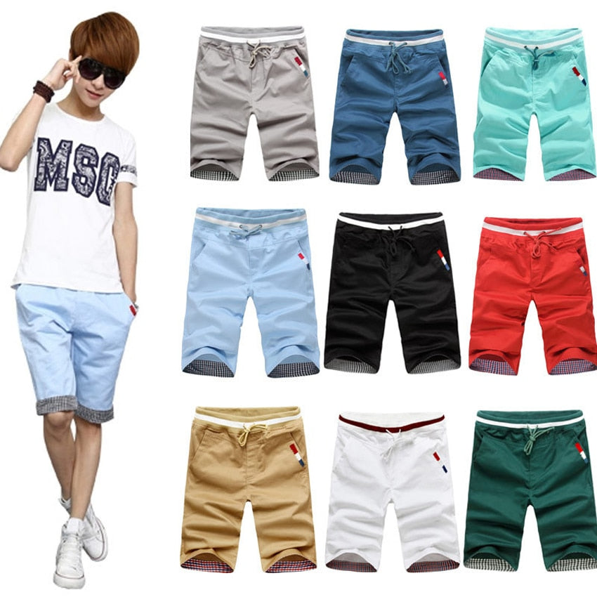 Men's Cotton Drawstring Shorts