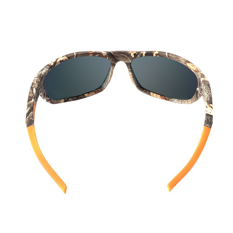 Unisex Polarized TR90 Lightweight Camo Sport Sunglasses