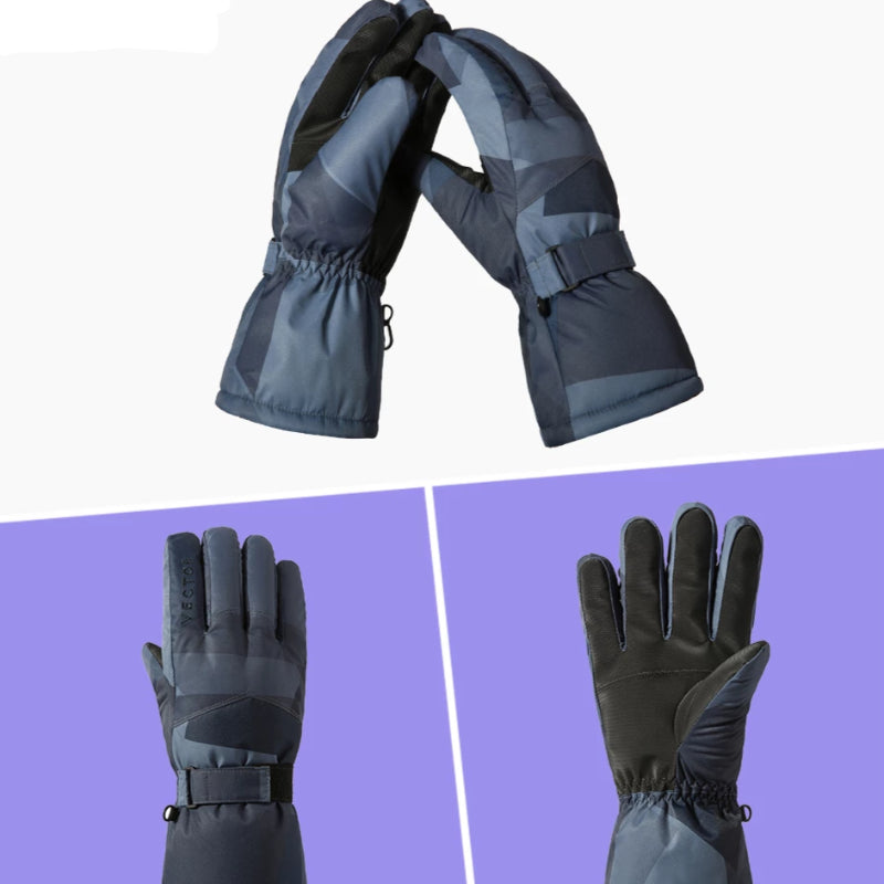 Winter Snowboard Snowmobile Waterproof Ski Gloves