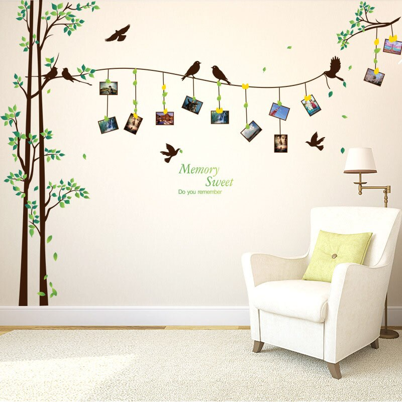 3D Tree Photo Wall Stickers