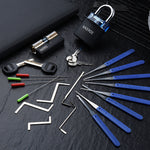 Locksmith Hand Tools Supplies & Transparent Visible Practice Lock