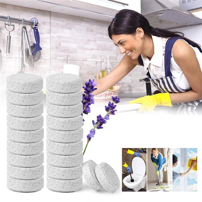 50 pcs Multifunctional Effervescent Concentrate Cleaner