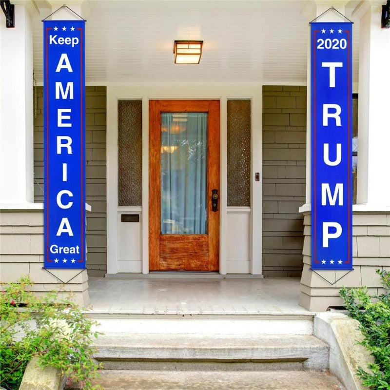 2020 Keep America Great Trump Banner Set