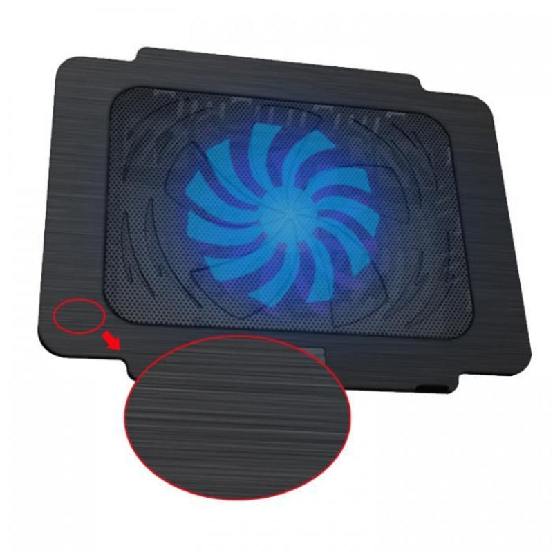 USB Laptop Cooling Pad Slideproof Stand