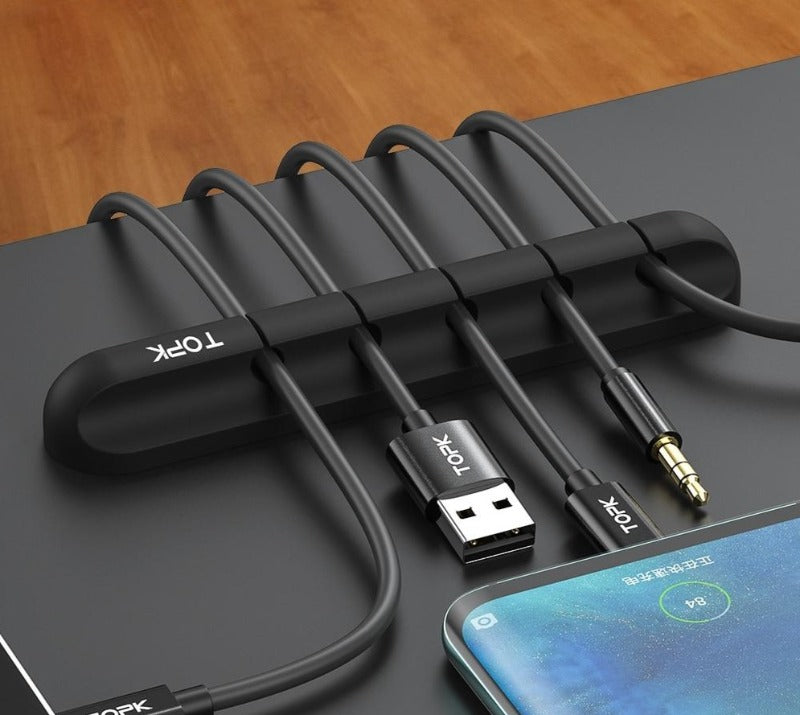 USB Desktop Cable Organizer