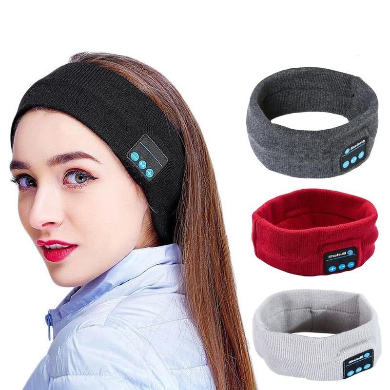 Unisex Bluetooth Speaker Fitness Headband