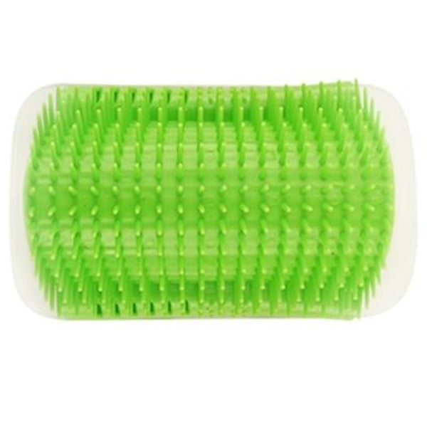 Pet Grooming Arched Massager and Scratcher - Green