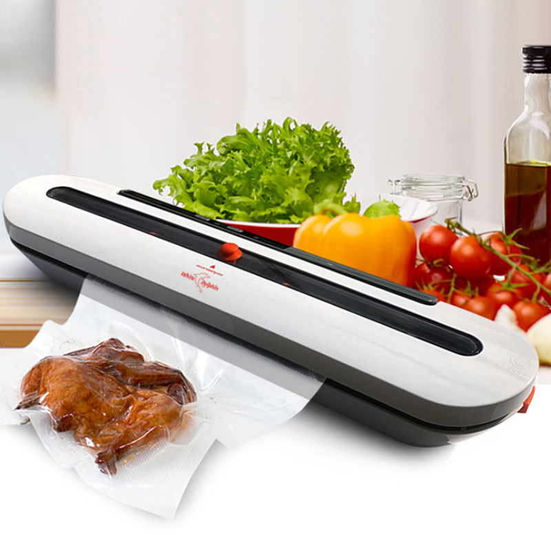 Household Food Vacuum Sealer With Free 10pcs Bag Set