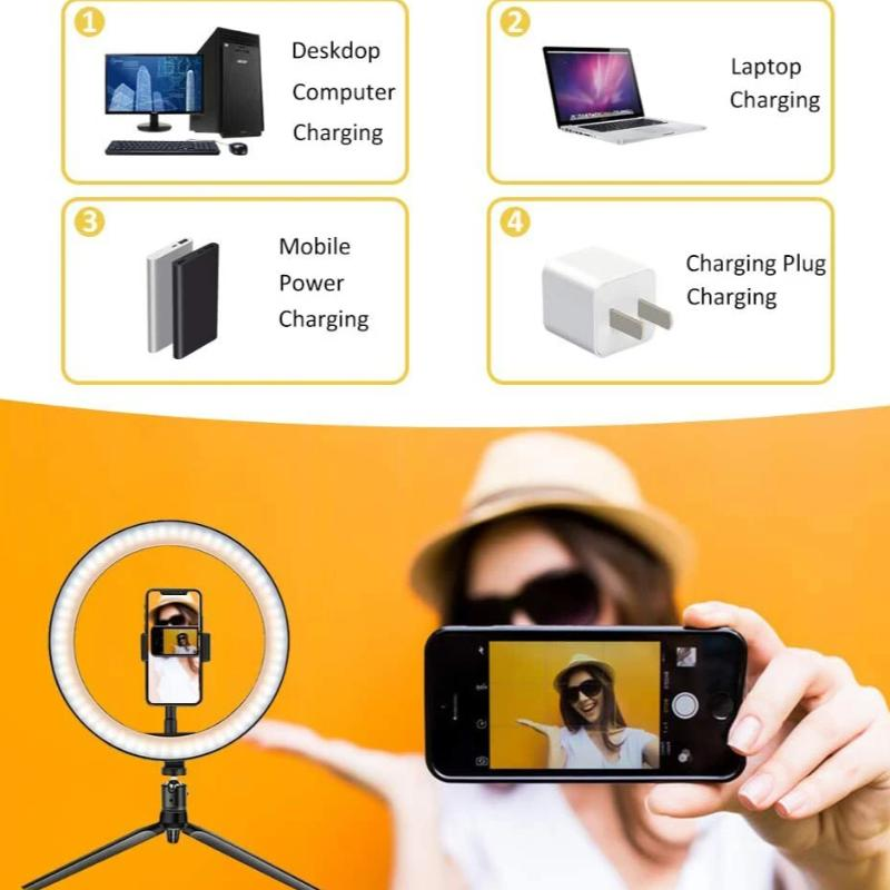 LED Selfie Lamp With Tripod
