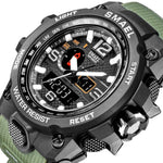 Men's Military Style LED 50m Waterproof Wristwatch