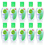 10 Pack 50ml Quick-Dry 75% Ethyl Alcohol Antibacterial Disinfecting Hand Sanitizer