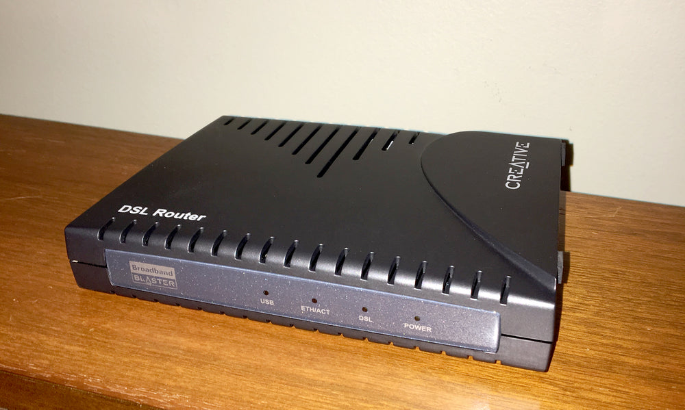 DSL Router Broadband Blaster by Creative Labs - HUB ONLY