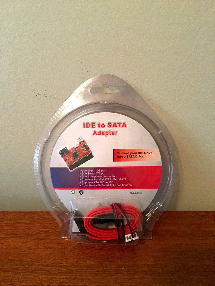 High Speed IDE to SATA Converter 40 Pin Hard Disk Driver Support