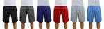 3-Pack: Men's Moisture Wicking Active Mesh Shorts