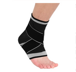 Elastic Adjustable Nylon Ankle Support Strap Brace