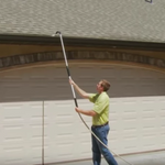 Orbit 2.0 Pro-Telescoping Gutter Cleaning & Pressure-Washer Wand