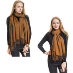 Women's Large Cashmere Scarf Wrap