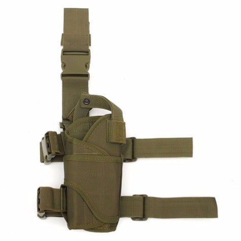 Outdoor Multi-Function Tactical Thigh Wrap-Around Holster
