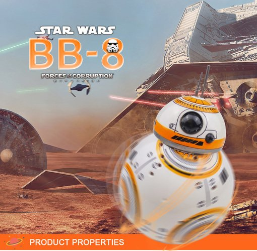 BB-8 Remote Control Intelligent Droid Robot