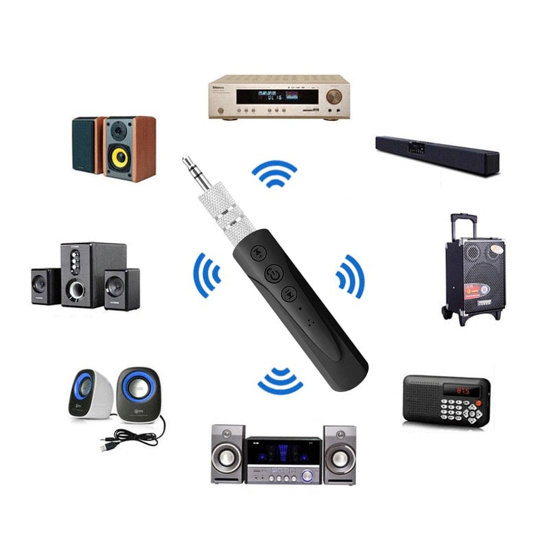 Bluetooth AUX Audio Receiver MP3 Adapter