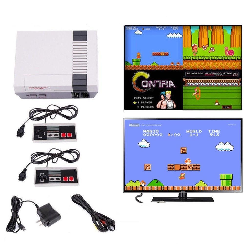 Retro Old School Video Game Console with 500 Built-In Games