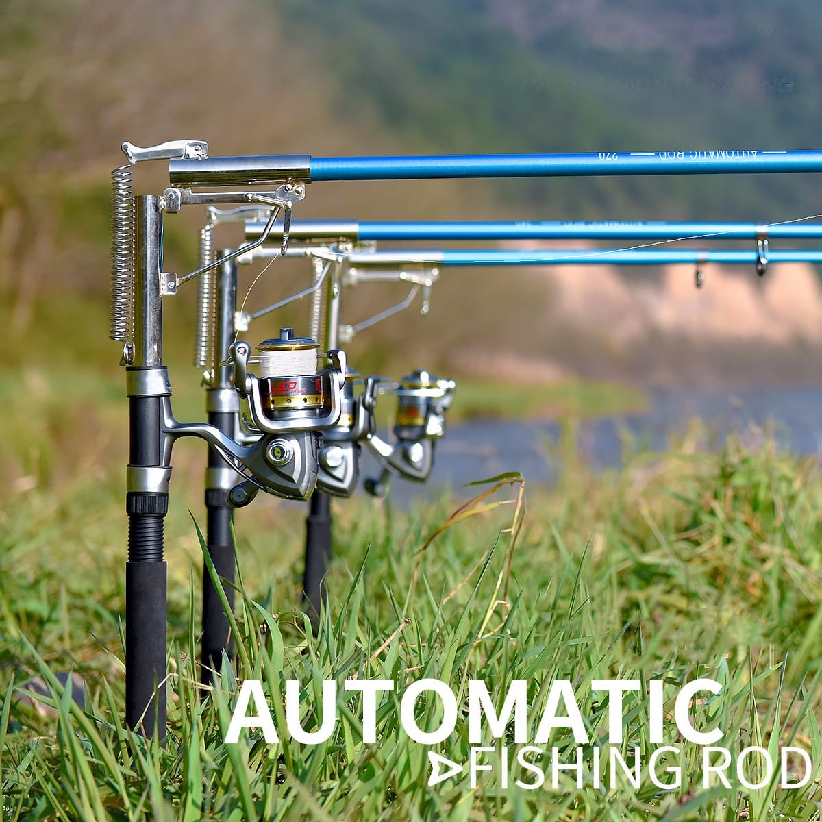 $25.99 (reg $86) Stainless Steel Automatic Telescopic Spinning Fishing Rod