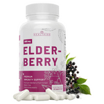 High Potency Elderberry Capsules With Vitamin C And Zinc For Immune Support