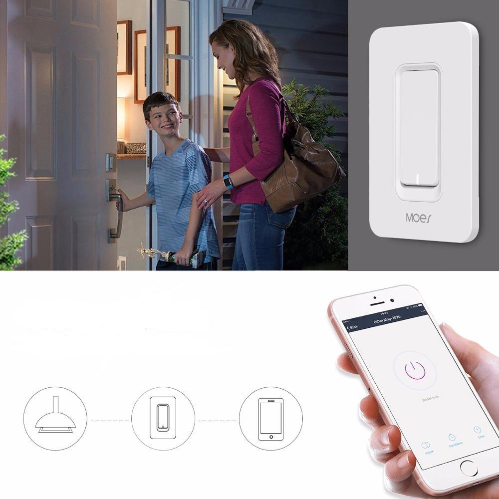 WiFi Smart Wall Light Switch Dimmer with APP Control