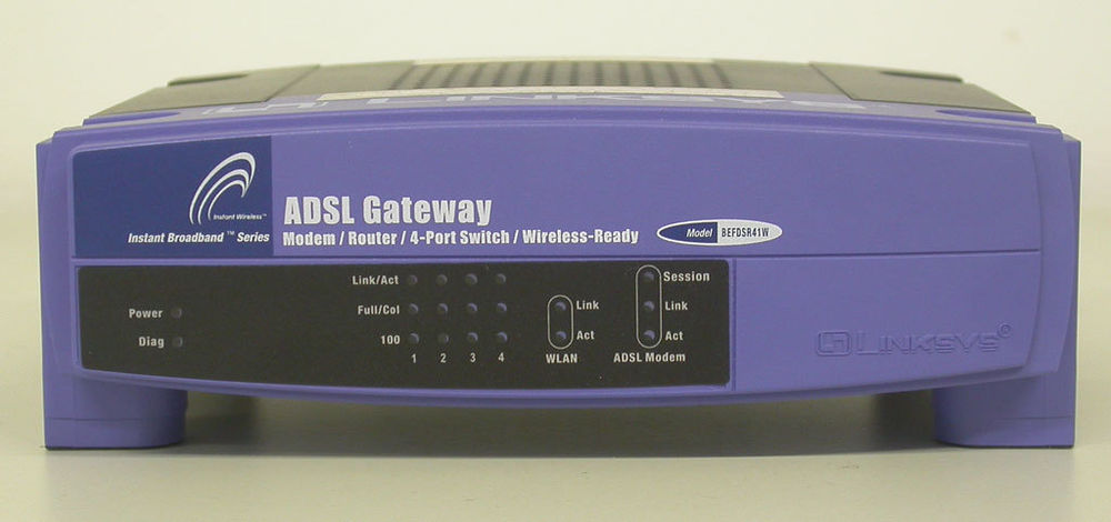 Linksys ADSL Gateway: Instant Broadband Series