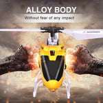 Alloy RC Helicopter with Gyro Crash Resistance
