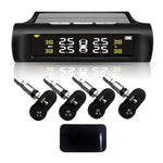 Solar Power Car Tire Pressure Alarm Monitoring System