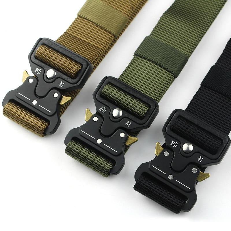 Tactical Military-Grade Nylon Adjustable Buckle Belt