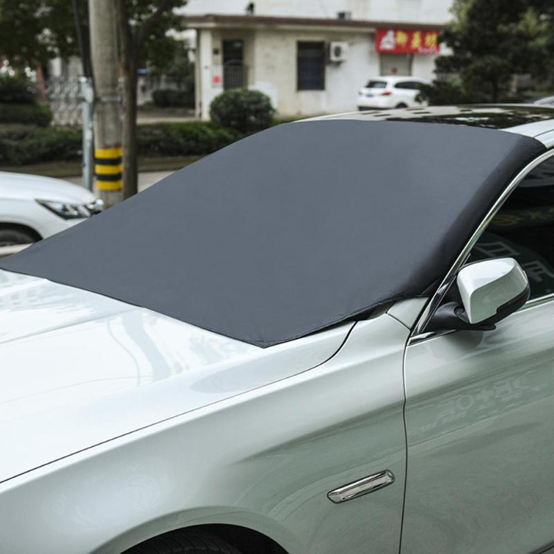 Universal Magnetic Front Windshield Cover - UV, Rain, Hail, Snow, Ice