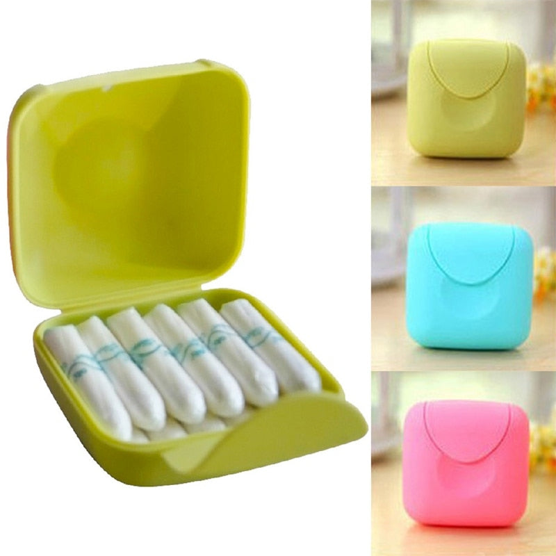 Travel Portable Tampons Storage Box
