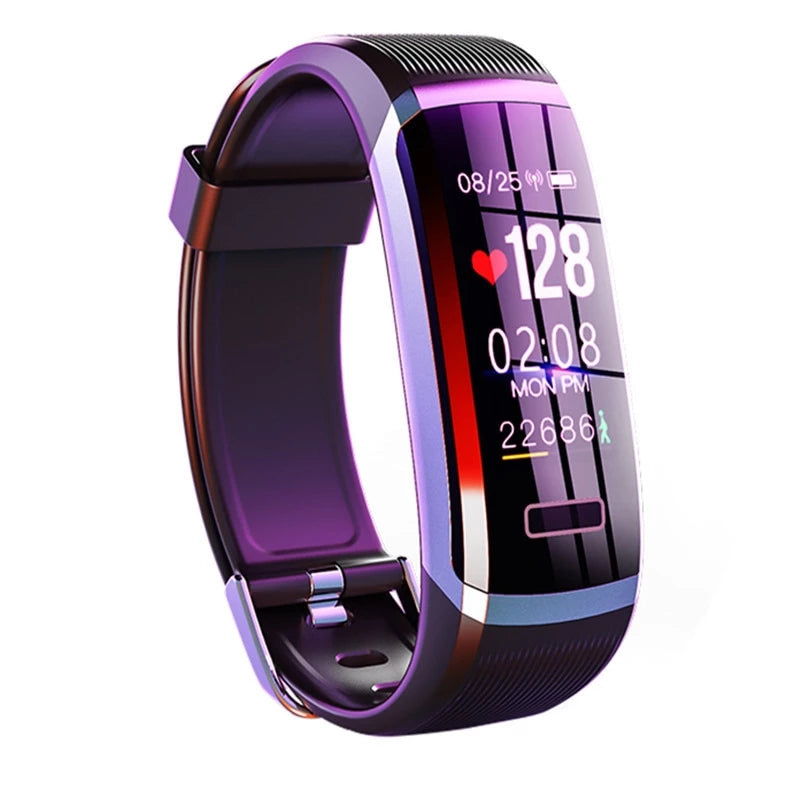 Waterproof Unisex Bracelet Real-Time Heart Rate & Sleep Monitor Smart Watch