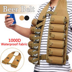 12 Pack Holster Portable Beverage Can Belt