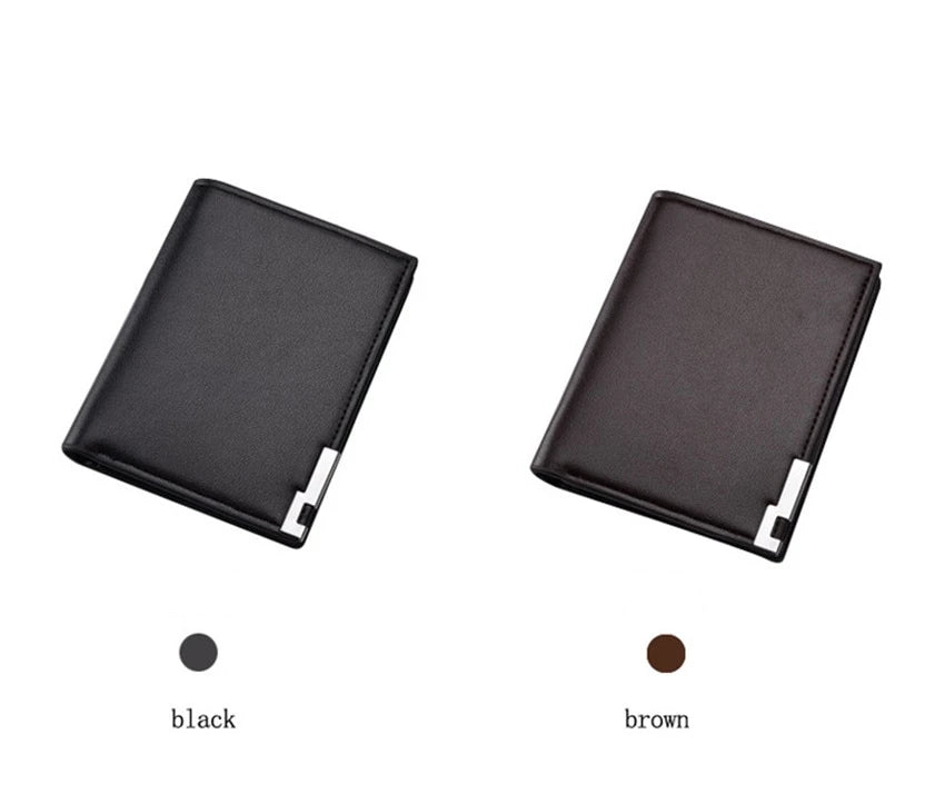Men's Wallets with Coin Bag Slim Design