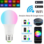 Smart WiFi Magic Light Bulbs 4.5W/ 7W Compatible with Amazon Alexa and Google Home