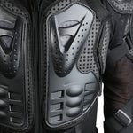 Full Chest & Arms Motorcycle Armor Jacket Protective Gear