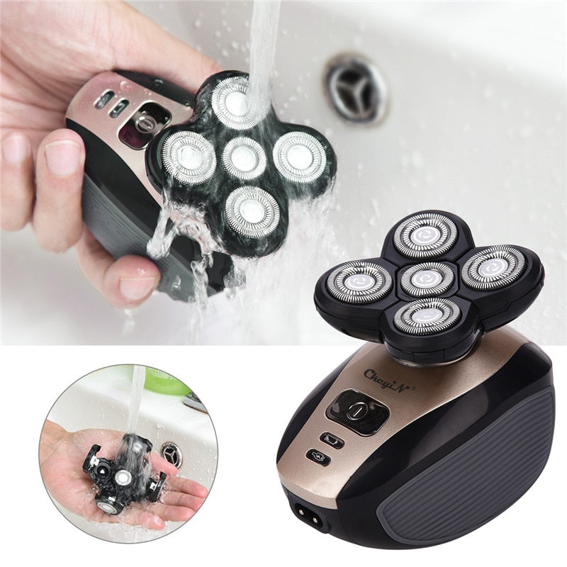 4D Wet & Dry 5 in 1 Rechargeable Electric Shaver