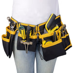 Two Bag Cloth Multi-functional Electrician Tool Belt