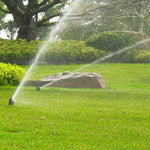"In Use 1/2"" to 3/4"" Female Plastic Pop Up Lawn Sprinkler Head"